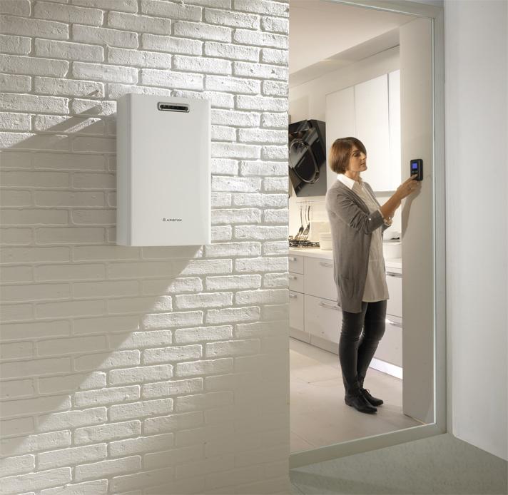 Está equipado con modulación termostática electrónica para un control más preciso de la temperatura