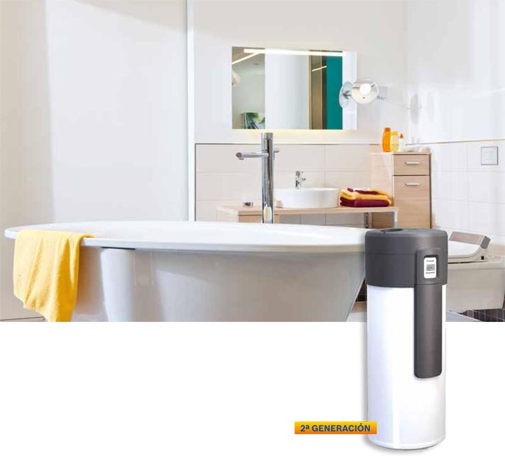 Supraeco, nueva bomba de calor para producción de agua caliente sanitaria