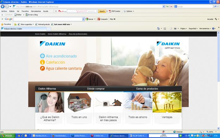 Los profesionales que quieran participar tienen que darse de alta en la web www.daikinaltherma.es