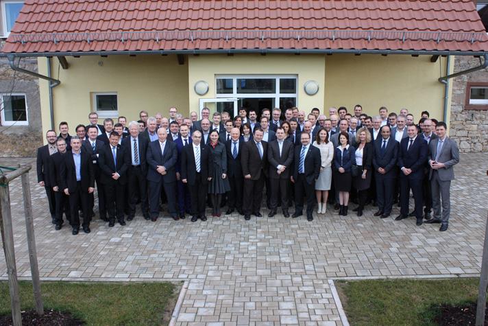 La convención reunió a directivos de la compañía de todo el mundo
