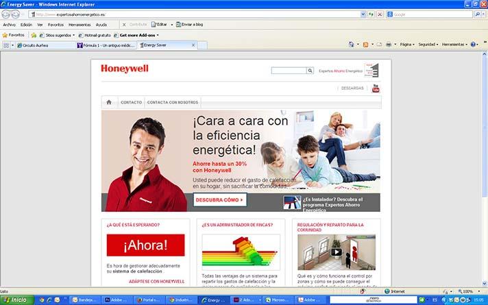 Durante la jornada, se explicará el funcionamiento de la nueva web www.expertosahorroenergetico.es