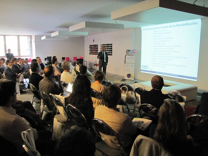 La sede de Interface en Barcelona acogió la jornada organizada por Tecnoinstalación