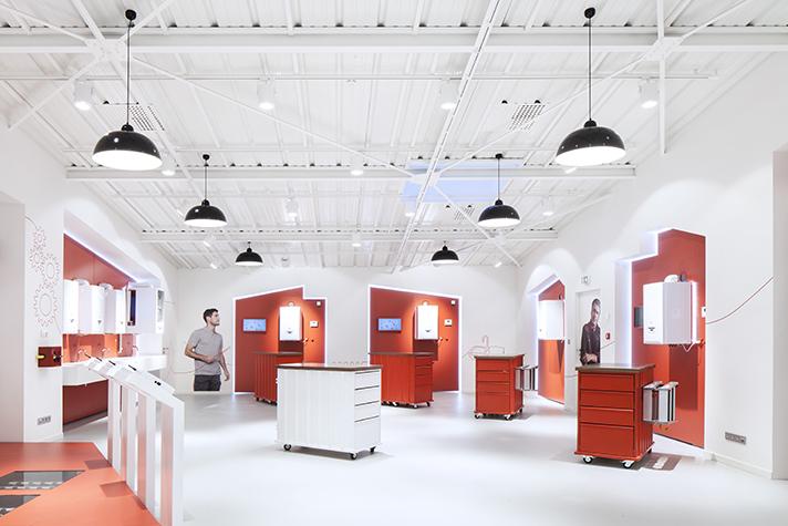 La planta de nantes acoge el primer showroom interactivo - Saunier duval nantes ...
