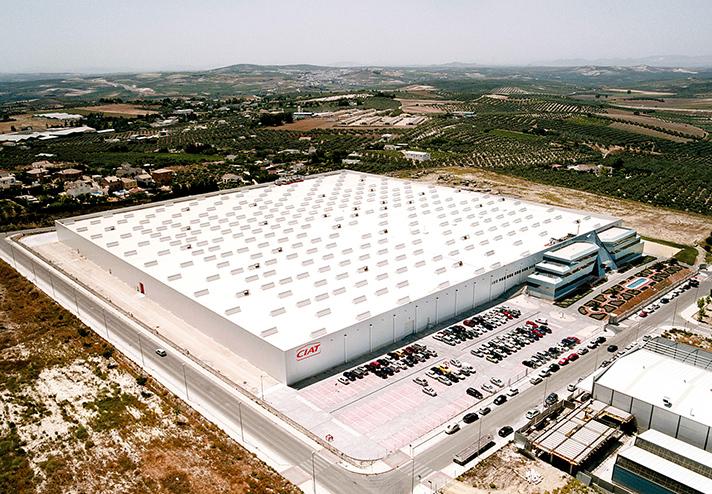Una imagen de la planta de CIAT en Montilla (Córdoba)