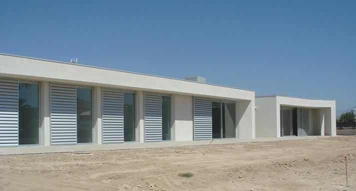 El Centro Fundación es un proyecto sostenible donde ha primado el reducir al máximo los gastos de mantenimiento