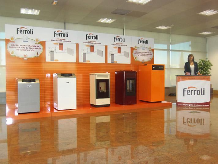 Ferroli quiere dar a conocer al instalador todas las posibilidades de su gama de producto