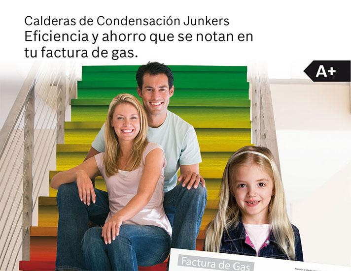 Para beneficiarse de la promoción hay que adquirir una caldera de condensación a gas Junkers entre el 15 de octubre y el 31 de diciembre de 2014