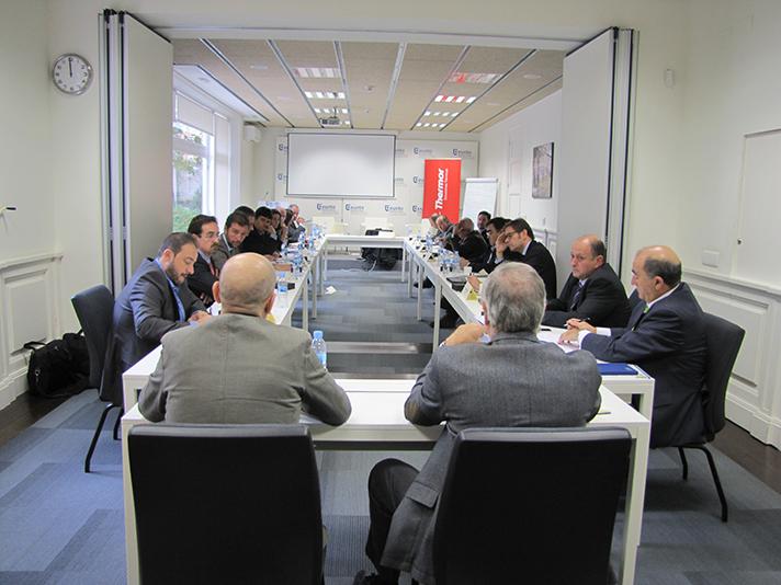 Todos los integrantes de la Mesa Redonda reunidos en Madrid por el 25 aniversario del Grupo Atlantic