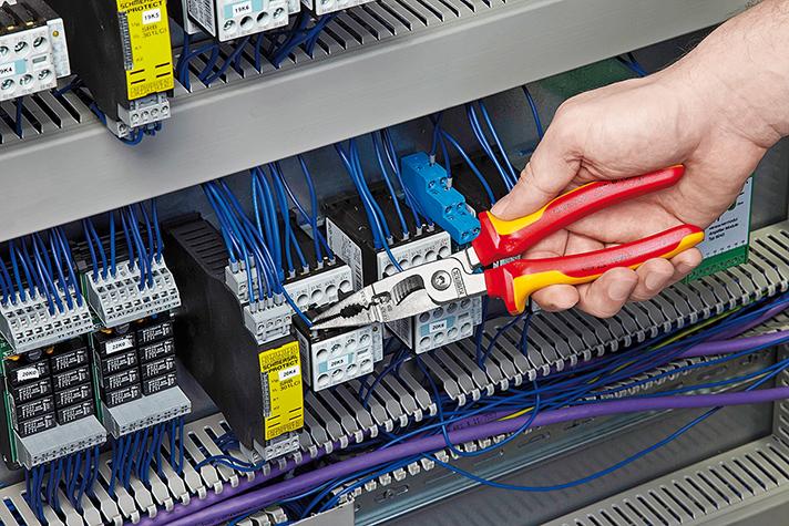 Aginco, a través de Knipex, ofrece soluciones para el profesional de material eléctrico, fontanería o construcción