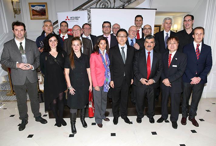 El acto de entrega de los premios se desarrolló en la residencia del Embajador de Japón