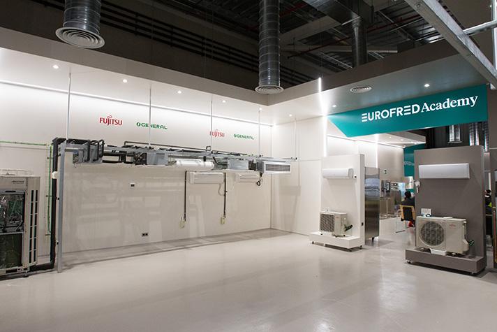 Eurofred Academy está ubicada dentro del centro logístico que el Grupo Eurofred posee en Vila-Rodona (Tarragona)