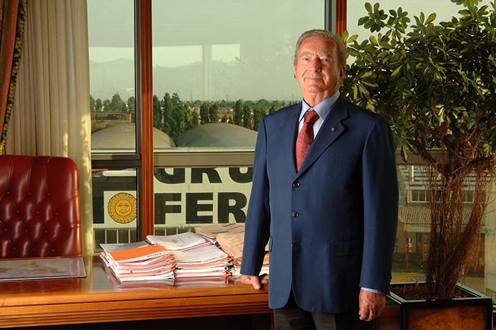 Dante Ferroli, presidente y fundador de la marca italiana de calefacción