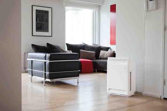 La gama de purificadores de aire de Daikin proporcionan un ambiente puro y saludable