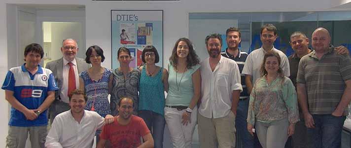 Una foto de grupo de los asistentes al curso organizado por Atecyr