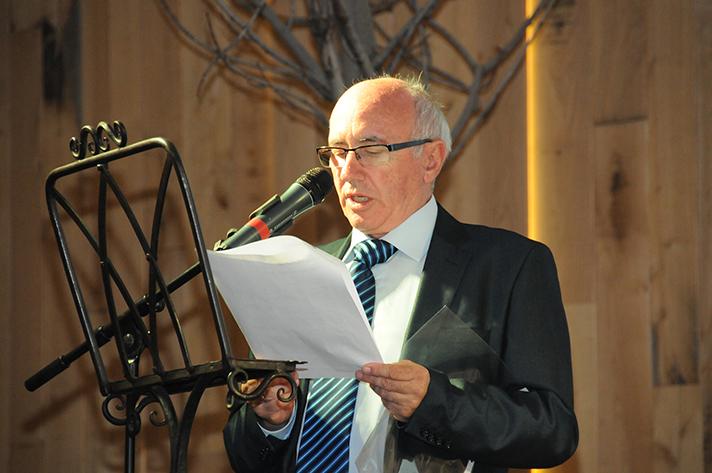 Andrés Muñoz, gerente de Casamayor, durante la Convención 2015