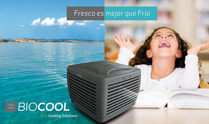 La bioclimatización evaporativa es una alternativa al aire acondicionado tradicional