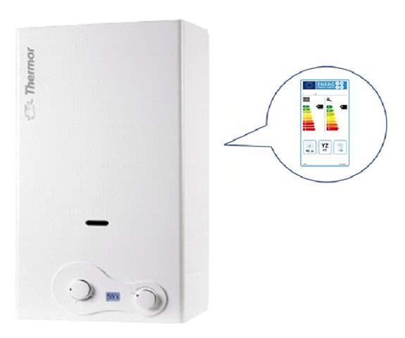 Toda la gama de calentadores Thermor está preparada para cumplir con la directiva de diseño ecológico (ERP) y de etiquetado energético (Labelling Directive)