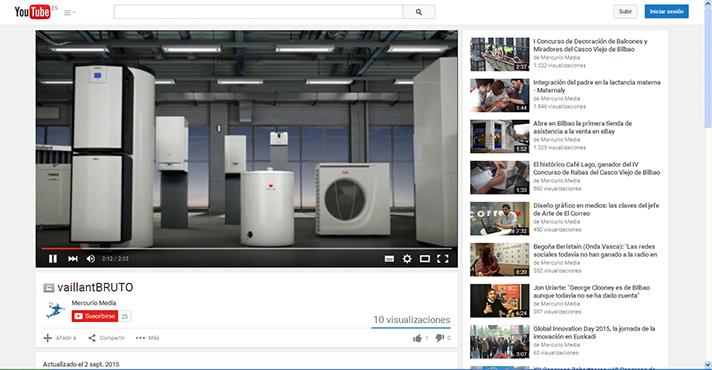 Vaillant explica en vídeo las ventajas de los nuevos sistemas de calefacción