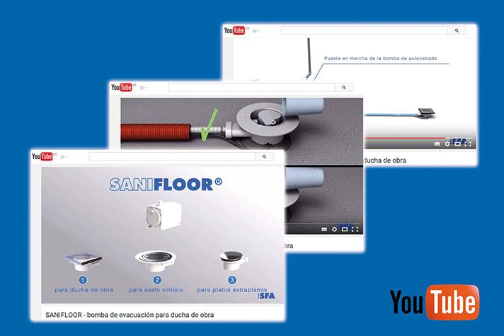 Sanifloor protagoniza nuevo vídeo en el canal SFA Sanitrit en YouTube
