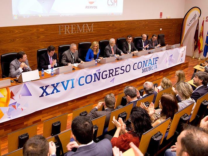 El Congreso de Conaif celebró en Murcia su 26ª edición