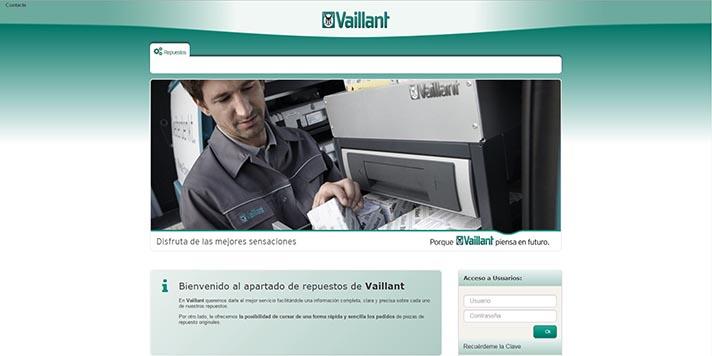 Nueva web de repuestos para instaladores de la marca alemana
