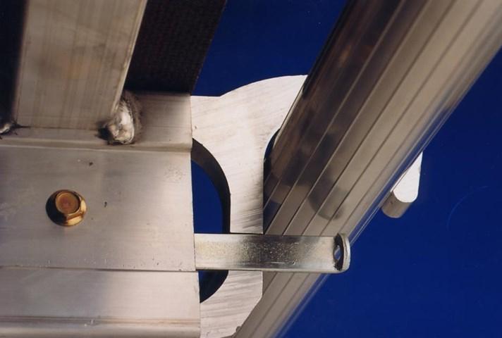 Andamio Balcón es una estructura fija de aluminio fabricada por Svelt