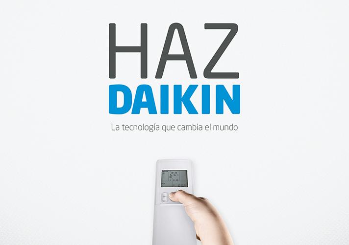 Este mensaje construye la nueva campaña de comunicación de la firma de climatización Daikin