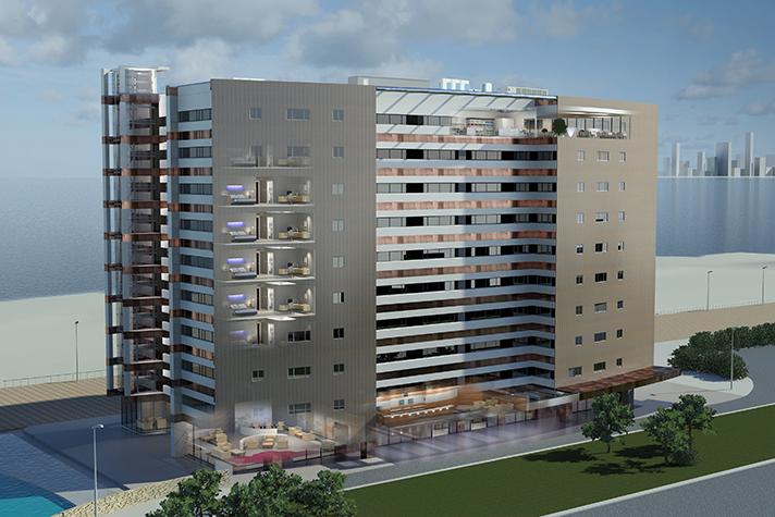 Daikin ha contribuido al nuevo plan de ahorro y eficiencia energética del hotel con 16 unidades VRV, 167 unidades interiores y 8 Hidrobox