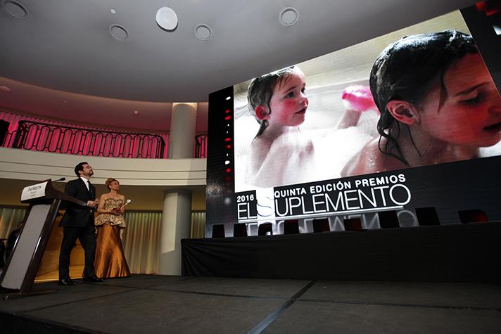 Gorka Barañano, director de Saunier Duval España, recogió el premio