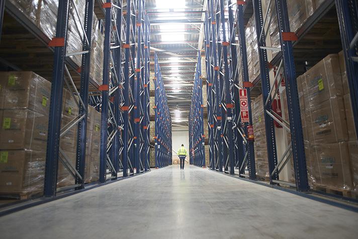 """El proyecto se basa en la reutilización, con otras empresas, de los contenedores que llegan o salen de sus almacenes, evitando que """"viajen en vacío"""""""