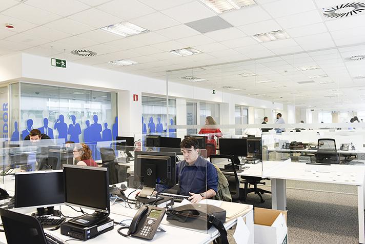 La nueva sede está ubicada en el edificio Alvento, climatizado por Daikin