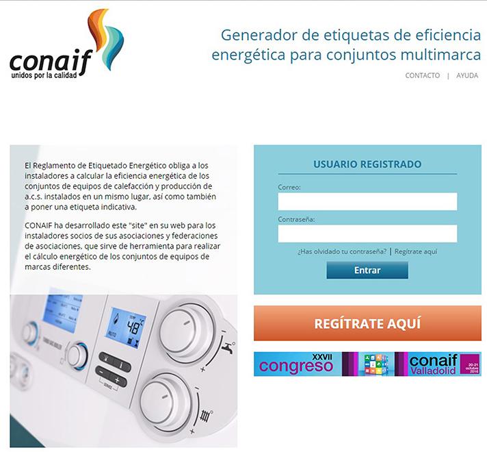 Conaif ha desarrollado una herramienta dirigida al instalador