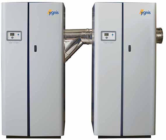 Se escogió la caldera Varmax Twin por ofrecer grandes prestaciones en calefacción y ACS