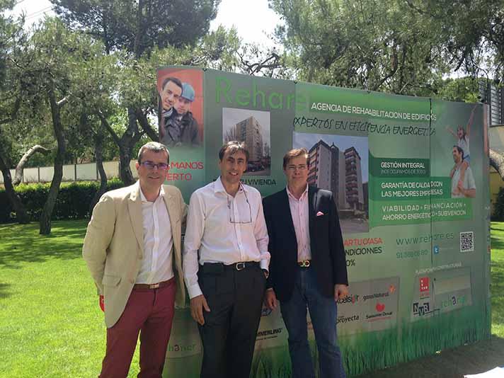 El encuentro ha sido organizado por CAF Madrid y patrocinado por REHARE