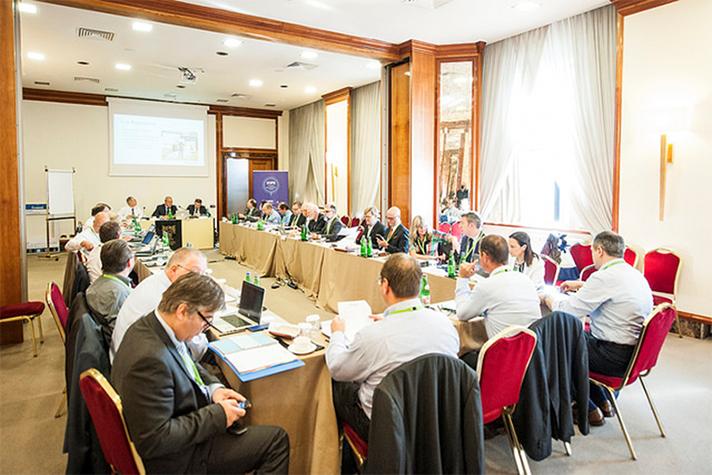 Imagen de la 59ª Asamblea General de Eurovent celebrada en Verona