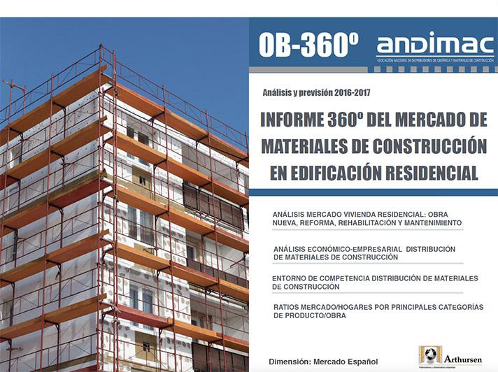 El Informe 360º analiza la evolución del mercado de materiales de construcción