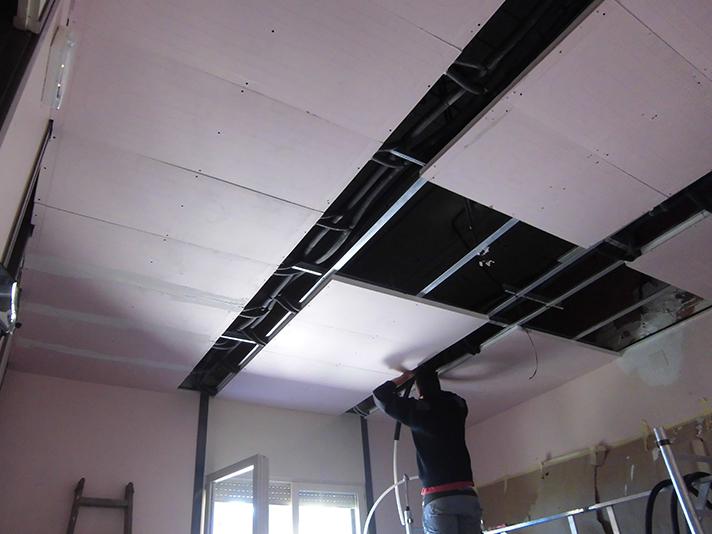 Los paneles del sistema de techo Teporis Panel, se suministran en diferentes tamaños