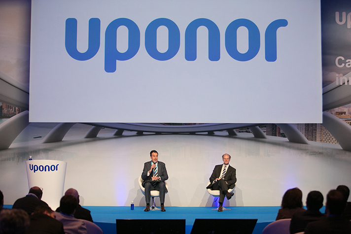 """Uponor realizó una mesa de debate bajo el lema """"Innovación en el sector de la construcción"""