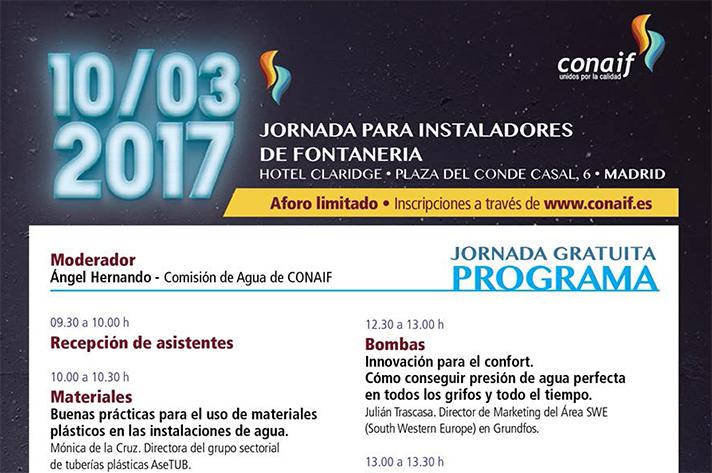 La jornada organizada por Conaif se celebra el 10 de marzo en Madrid
