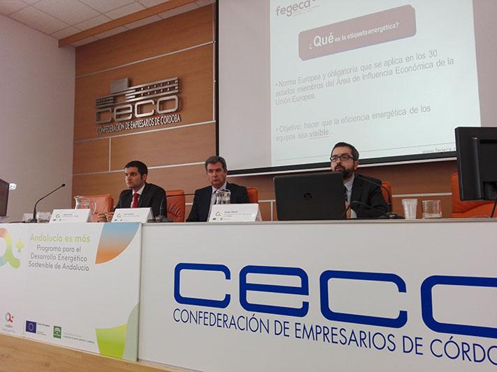 En la imagen, a la derecha, Gaspar Martín, Director Técnico de ACV y Miembro de la Comisión Técnica de Fegeca