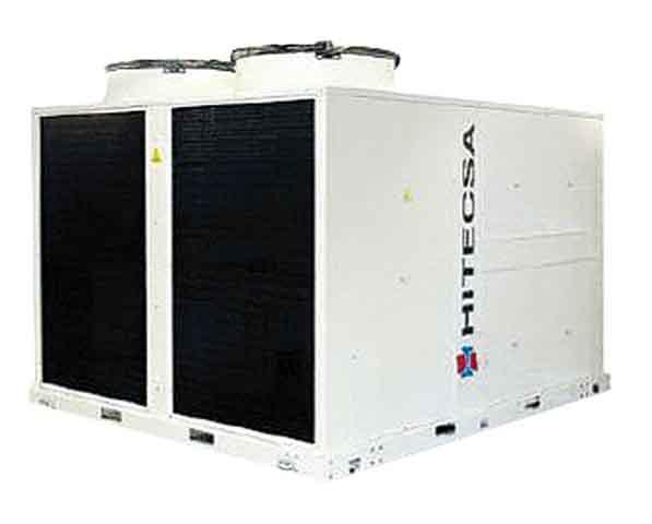 La unidad elegida es una autónoma compacta tipo Rooftop, modelo RXCBA-STD 5002