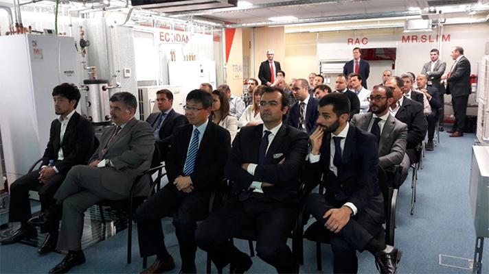 El evento tuvo lugar el pasado 17 de mayo en las oficinas de Derio (Vizcaya)