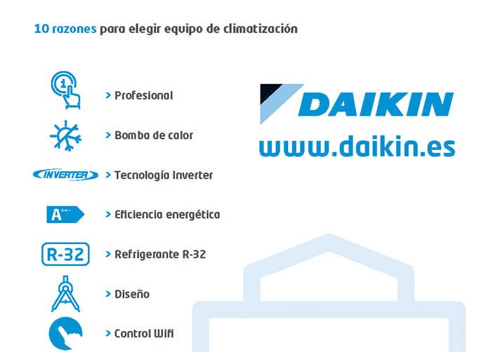 Daikin lanza un decálogo con consejos a tener en cuenta a la hora de elegir el sistema de aire acondicionado