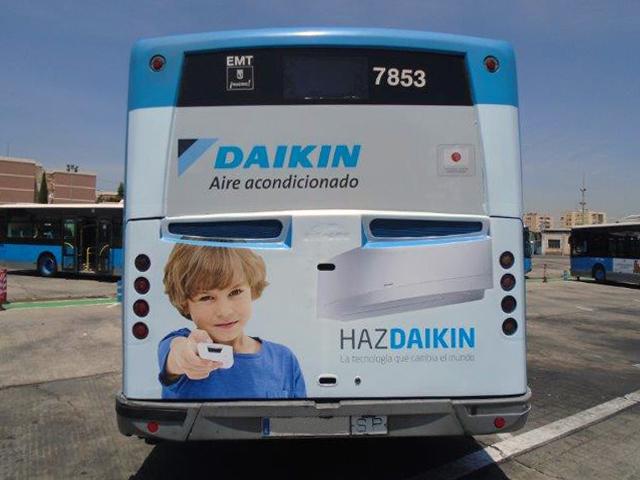 """Con el eslogan """"Haz Daikin, la tecnología que cambia el mundo"""" la firma recorre las principales calles españolas"""