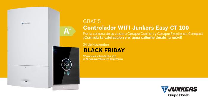 La marca exclusiva de la división Bosch Termotecnia pone en marcha una campaña especial Black Friday en su página web www.junkers.es