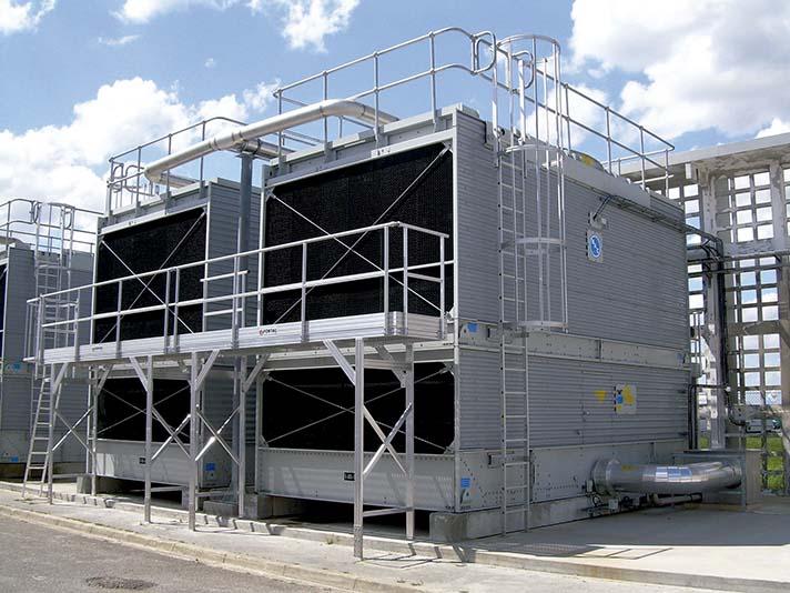 Los últimos avances técnicos en las torres de refrigeración facilitan el mantenimiento y contribuyen a incrementar la seguridad socio-sanitaria