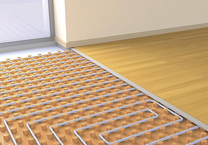Los sistemas radiantes (techo, pared y suelo) van de la mano de las nuevas tendencias constructivas