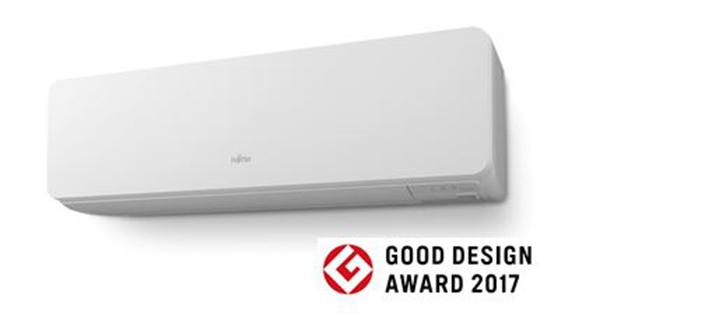 Los nuevos splits de Fujitsu han sido premiados en Japón por su diseño armónico y compacto y su alta eficiencia energética A+++