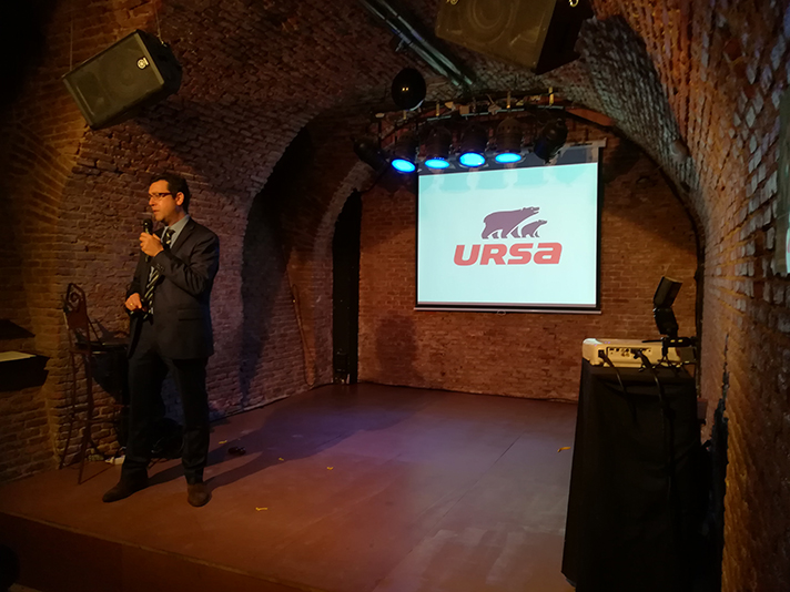 Arturo Casado, Director de I+D+i de la matriz Ursa Insulation, durante la presentación celebrada en Madrid