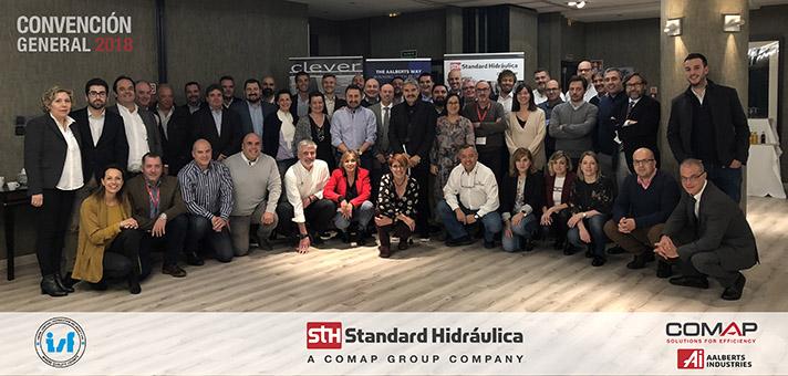 Standard Hidráulica ha celebrado su Convención 2018